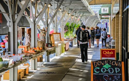 Roanoke Farmers Market - Dale R. Carlson