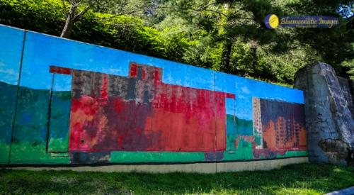 Mural Series in Appalachia VA - Artist Teresa Robinette Photo by Dale Carlson