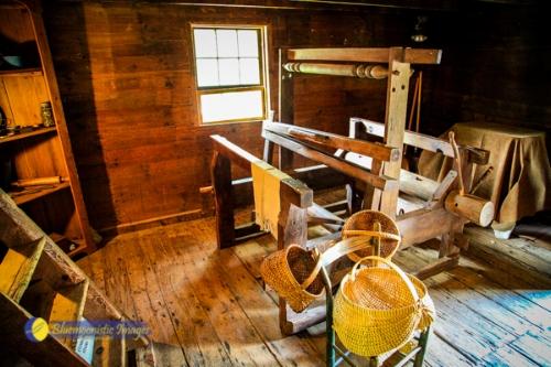 Brinegar Cabin (Inside) - Photo by Dale R. Carlson