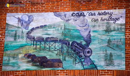 Dante VA Mural - Photo by Dale R. Carlson