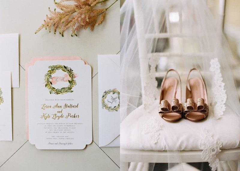 Blush Invitation Suite - Smitten on Paper