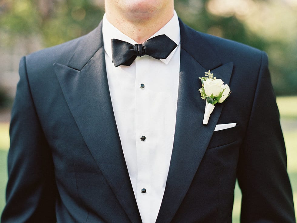 Classic Groom Boutonniere