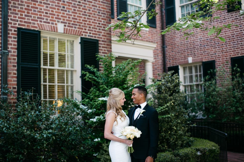 Chapel Hill Bride and Groom