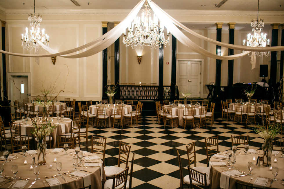 Old Well Ballroom Draping