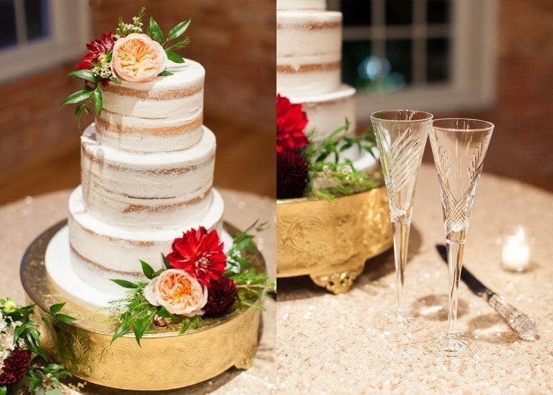 Naked cake design