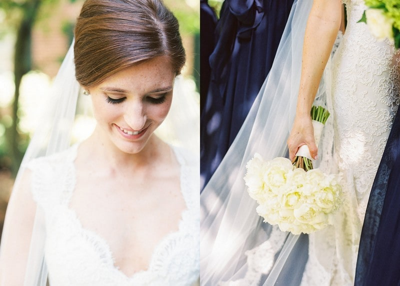 Classic Bridal Details, Carolina Inn Bride