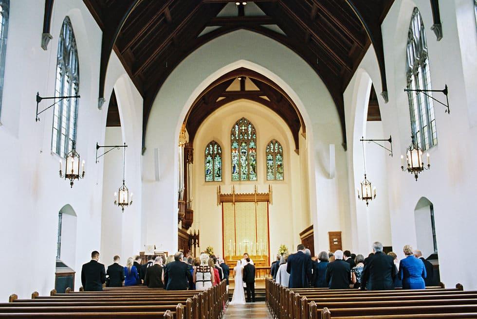 Chapel of the Cross Wedding Ceremony