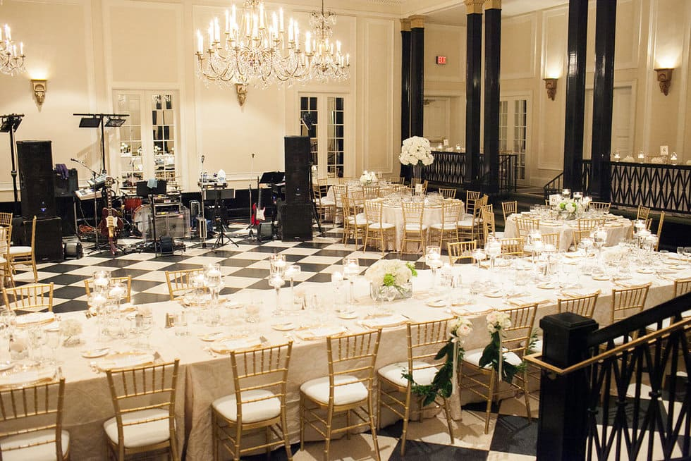 Ivory Ballroom Design