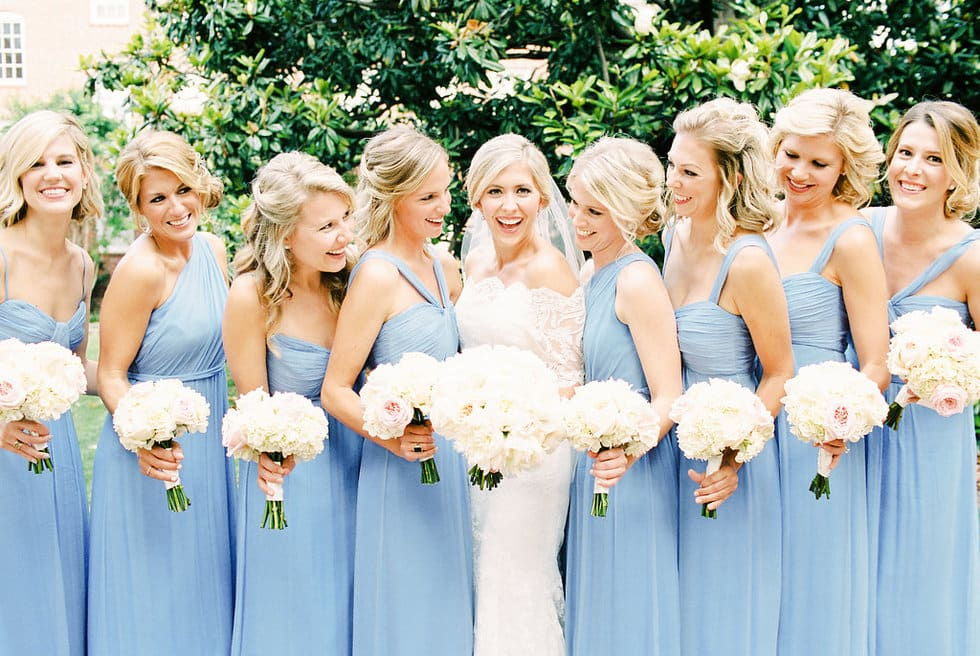 Carolina Blue Bridesmaids