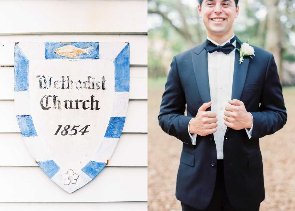 Southern Church Wedding