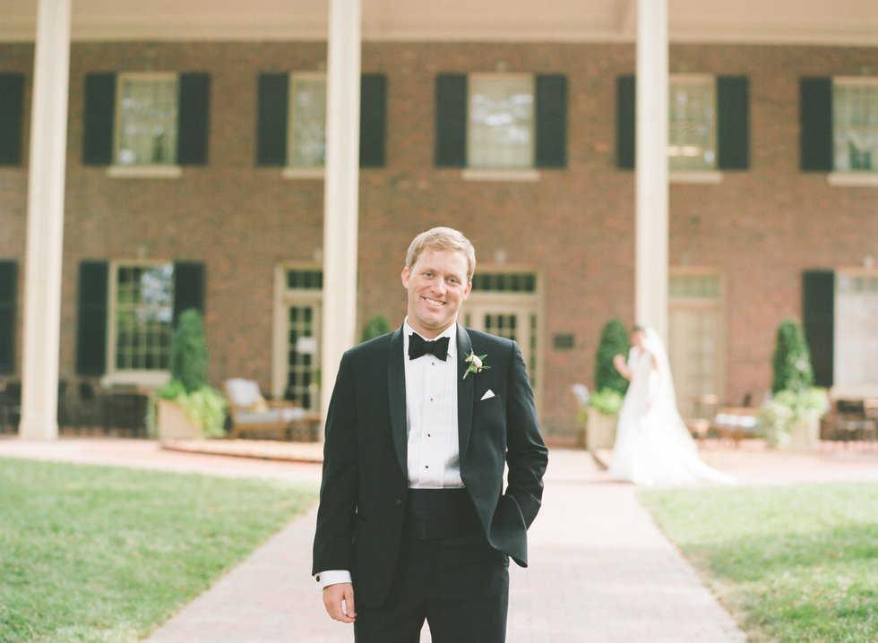 First Look - groom