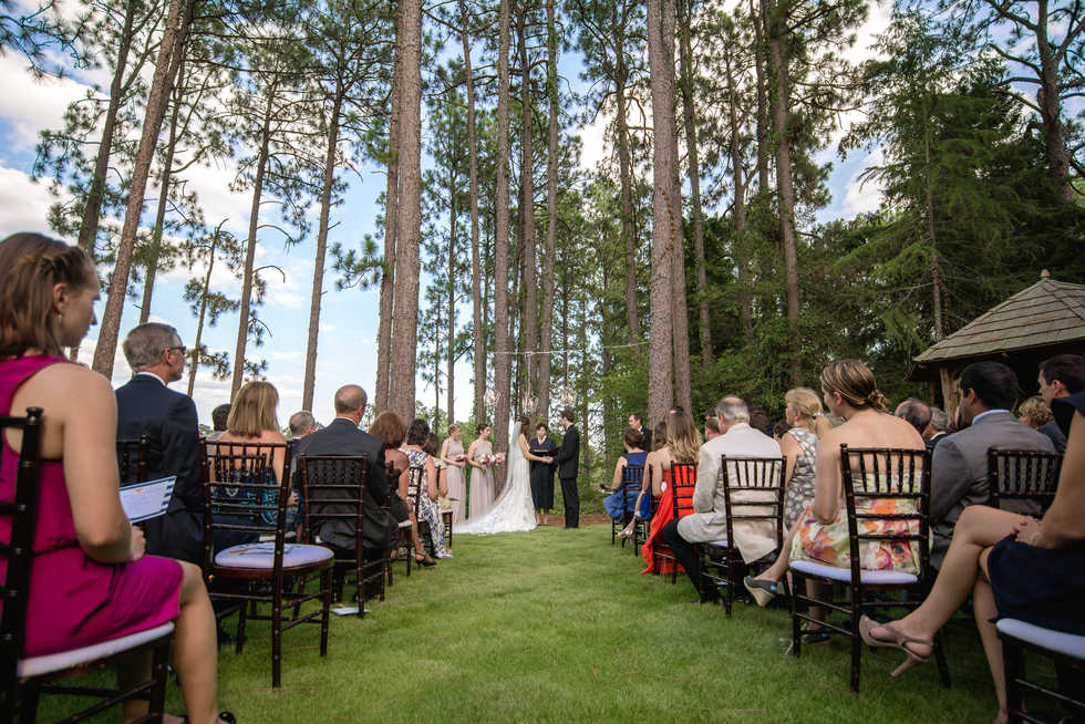 Southern Pines Outdoor Wedding