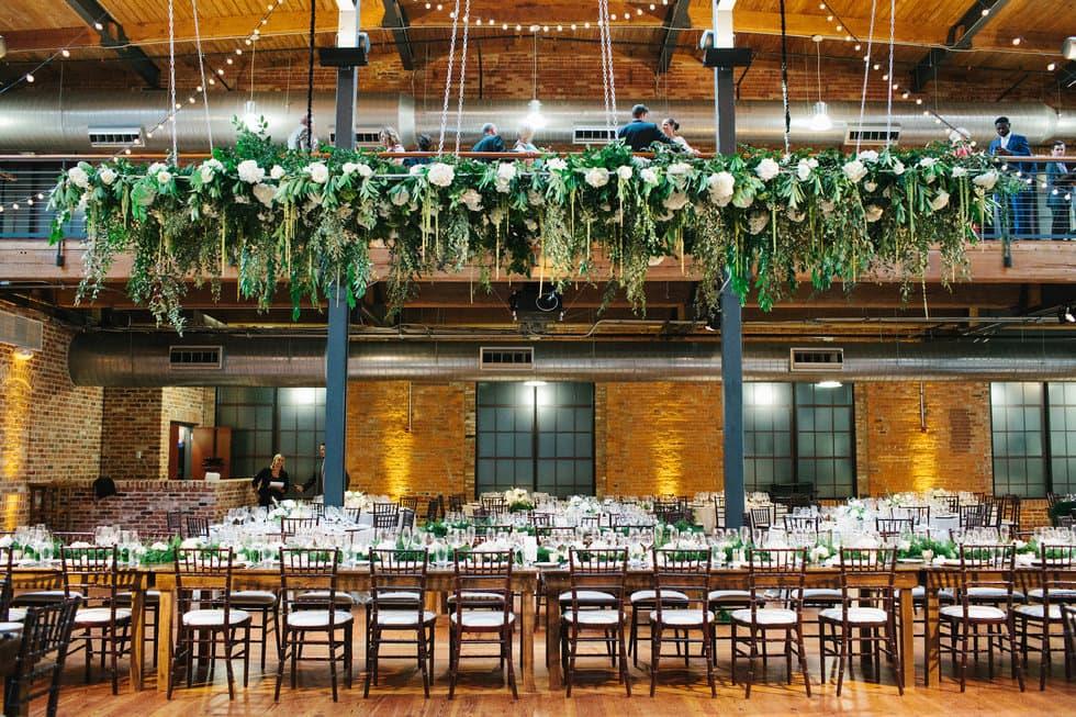Bay 7 wedding reception in Durham NC