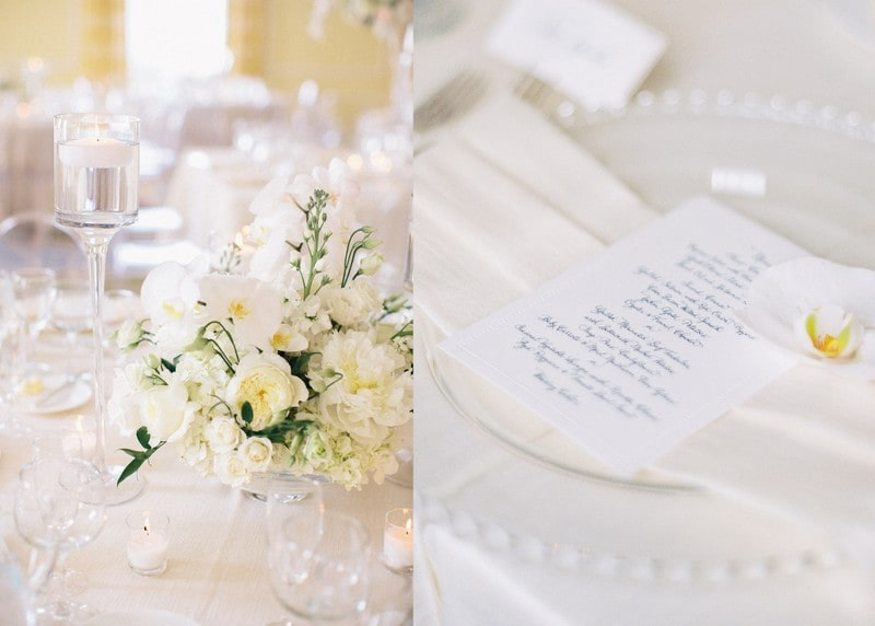 Navy Place setting Details