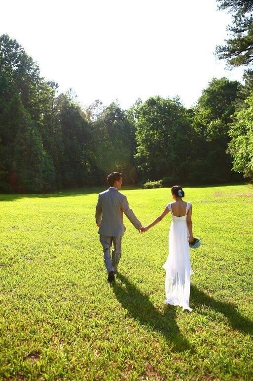 Sneak Peek of Jane and Tim's Backyard Wedding Pictures!