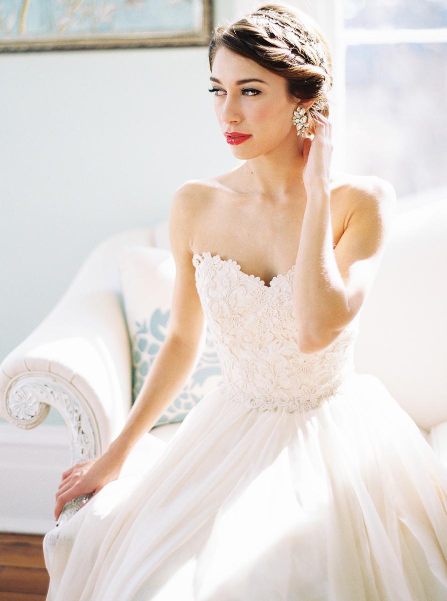 Bold Southern Bride Shoot