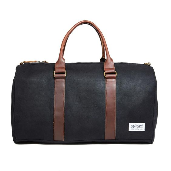 Men's Weekender - Can't forget about the guys in our lives - we love this weekender bag from Mastline. Easy to carry with top handles or shoulder strap, perfect for a short trip or weekend away.