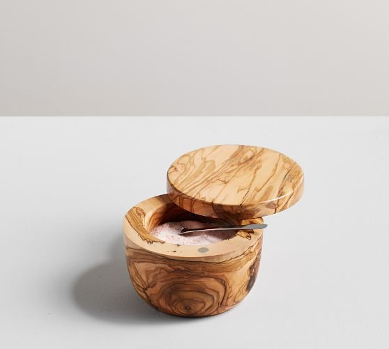 Wood Salt Cellar - You won't know this was missing from your kitchen until you have one, then you won't know what to do without it! Do yourself a favor and scoop up one for yourself and your neighbor. Keep it right by your oven to be within arms reach when you need that quick pinch of salt to complete a yummy dinner! You could also pair with a few different exotic salts (Amazon sells Pinot Noir salt, btw) for your giftee to try out in their cooking!