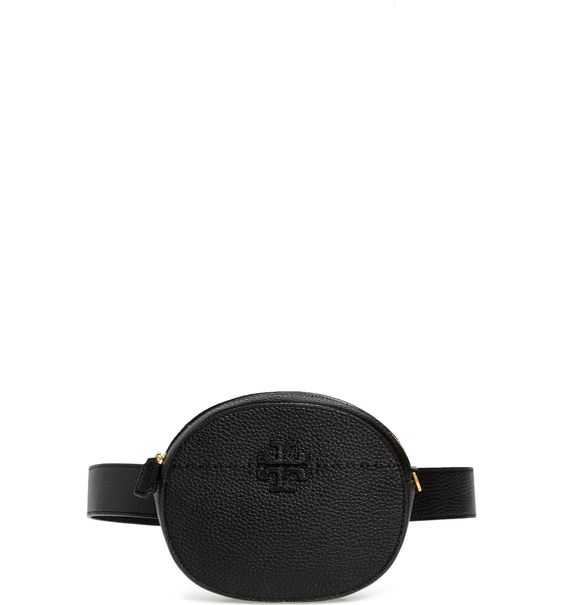 """TB VERSATILE Belt Bag - Well here we are on the """"fanny pack"""" bandwagon believe it or not. This 90's staple is make a strong comeback and we aren't mad about it. We love this option from Tory Burch because you can wear it 3 ways - as a belt bag, across your chest, or as a true crossbody. We're also a big fan of the pebbled soft leather."""