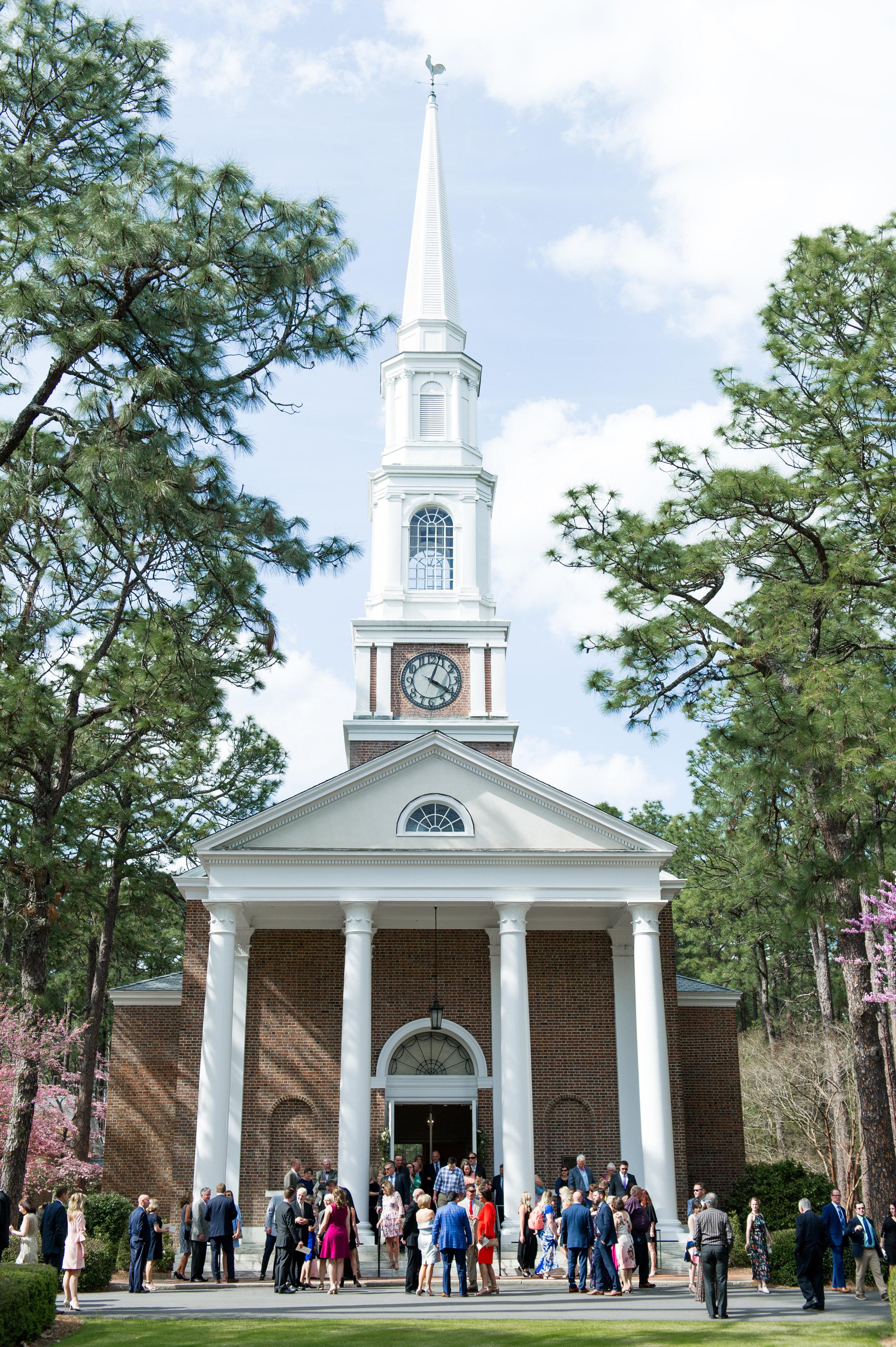 Pinehurst Village Chapel Wedding.JPG