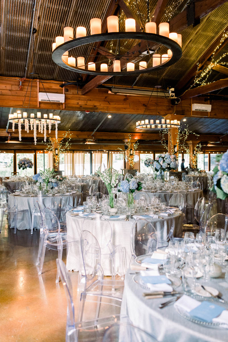 Angus Barn wedding reception by McLean Events