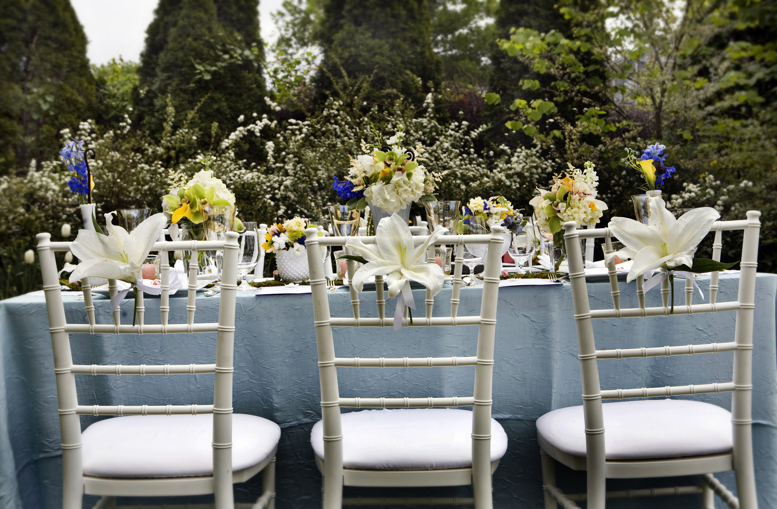 Chairs and Table Scape