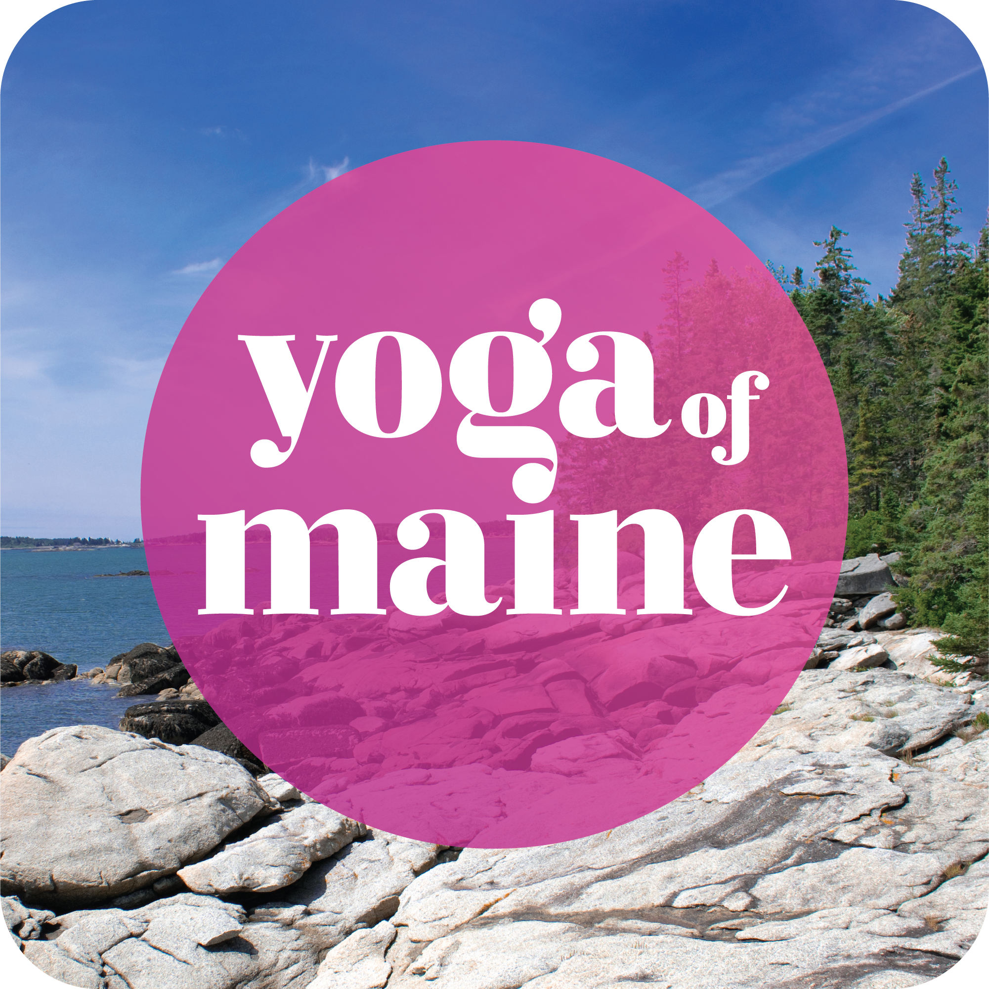 """- Yoga is meaningful to us in many ways, and others' stories can help us better understand our own paths. This podcast connects you to the brightest yogic thinkers and deepest practitioners in Maine. The state has become a hotspot for yoga with inspiring teachers, organizations and businesses contributing to the growing community. Of course, you do not need to live in Maine or even been to """"Vacationland"""" to glean insights from the conversations on this podcast. This space is to exchange thoughts, share insights, receive bits of clarity, and spark curiosity. The internal world of yoga will be made visible here through dialogue, connecting us to each other."""