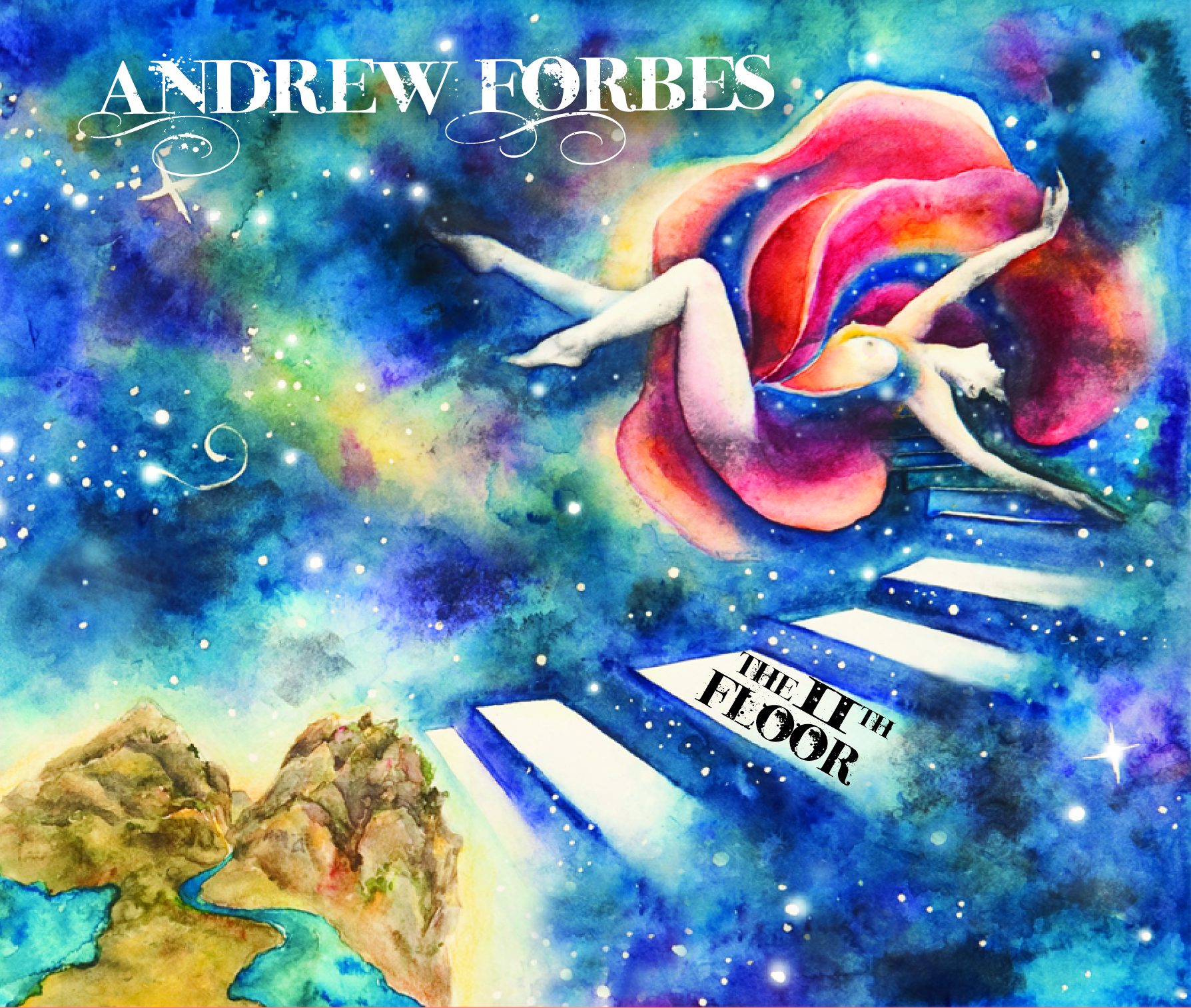 The 11th Floor - Andrew's second studio album and first official release, the 11th Floor captures the blend of Indian sounds with the highland bagpipes. Recorded in Eldorado Springs, Colorado. Andrew Forbes: bagpipes and low whistle, Sean Burhoe: tabla and framedrum, Scott Parker Mast: percussion, Johannas Rath: guitalimba, Aaron Davis: sarod, Dave Cipriani: vocals and guitar. Produced by Andy McEwen and Andrew Forbes.