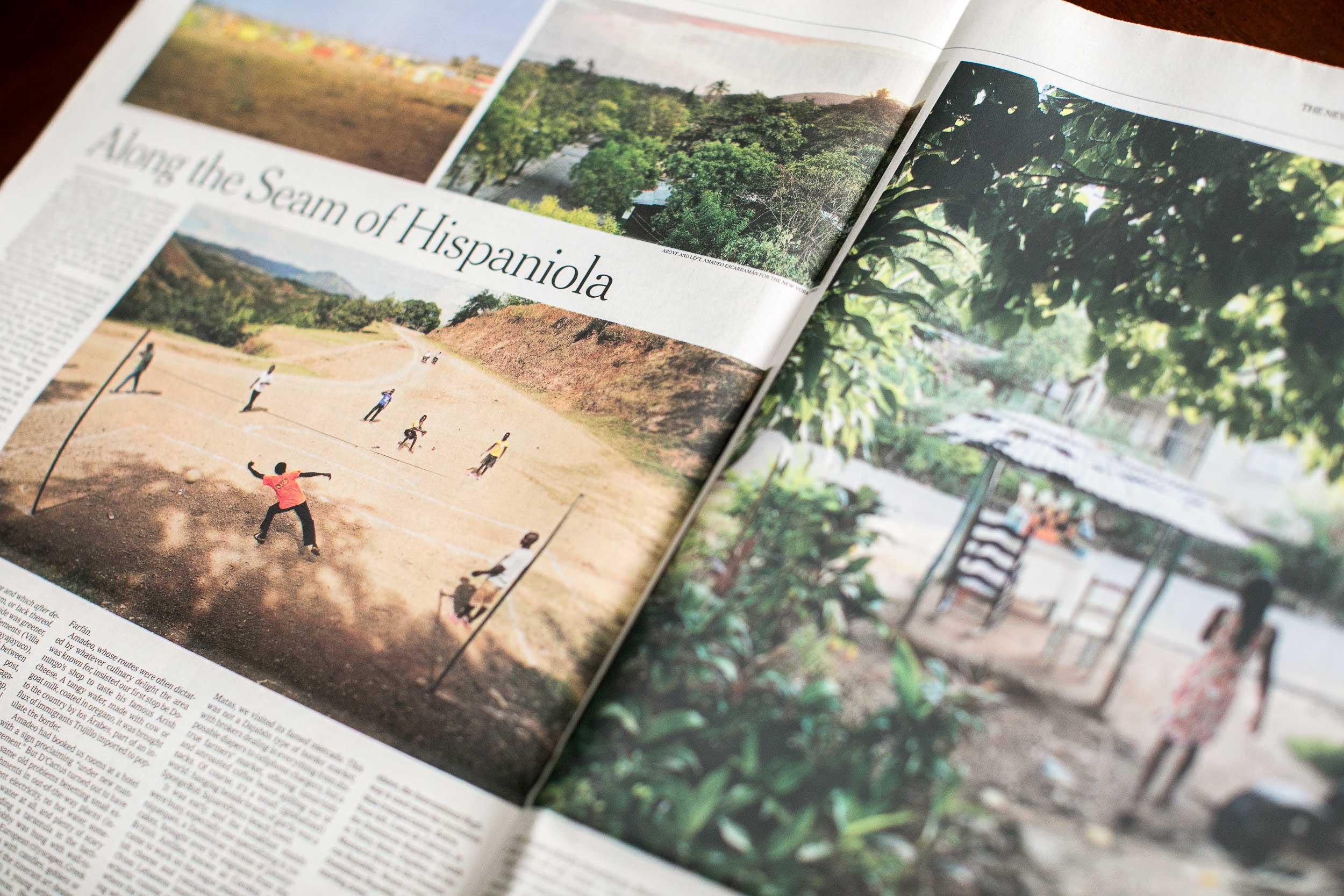 NYT Julia Alvarez Dominican Haitian Border Hispaniola