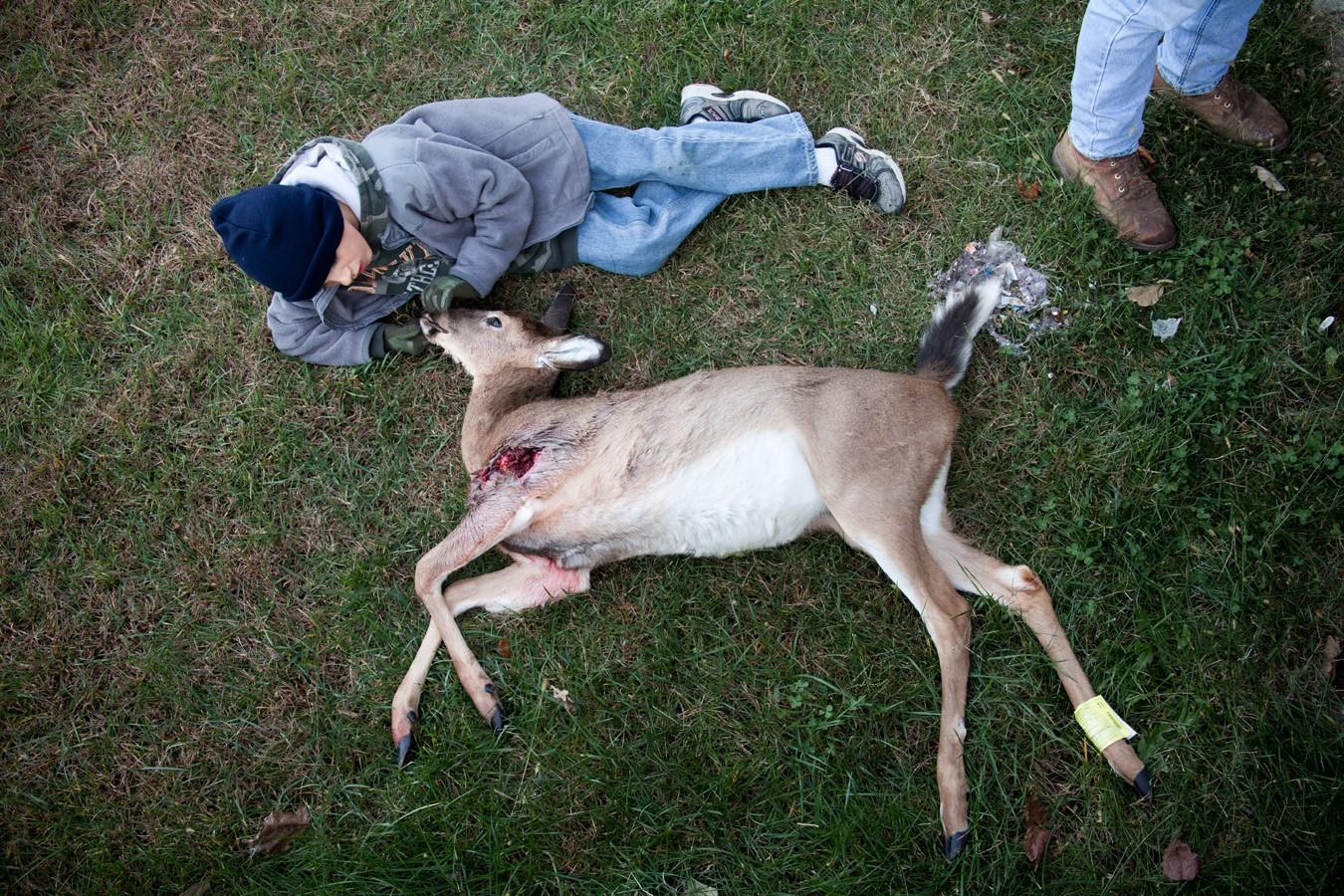 Deer Hunting Missouri Youth