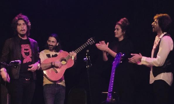 Juan Habichuela, Kiki Morente & Alba Molina at DROM