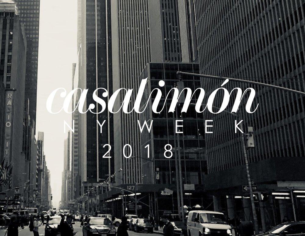 Casa Limón NY Week 2018 — Casa Limón