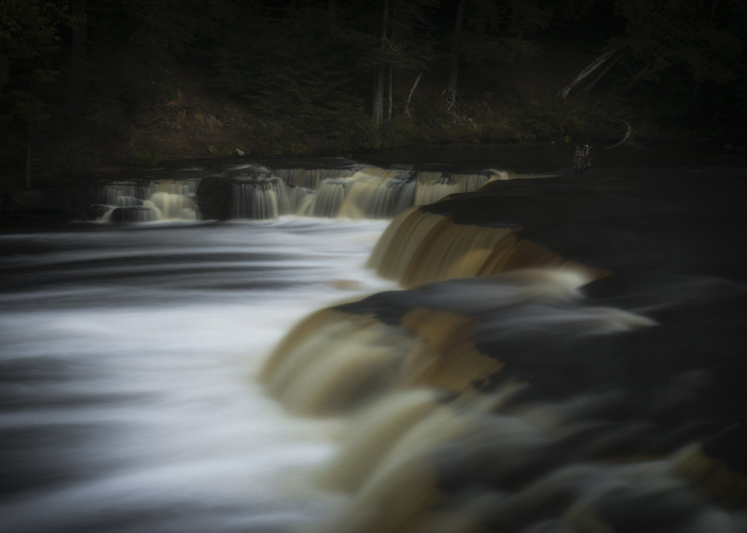 Tahquamenon Falls M Decor Landscape Photography Interior Design Affordable Customizable Art Corporate