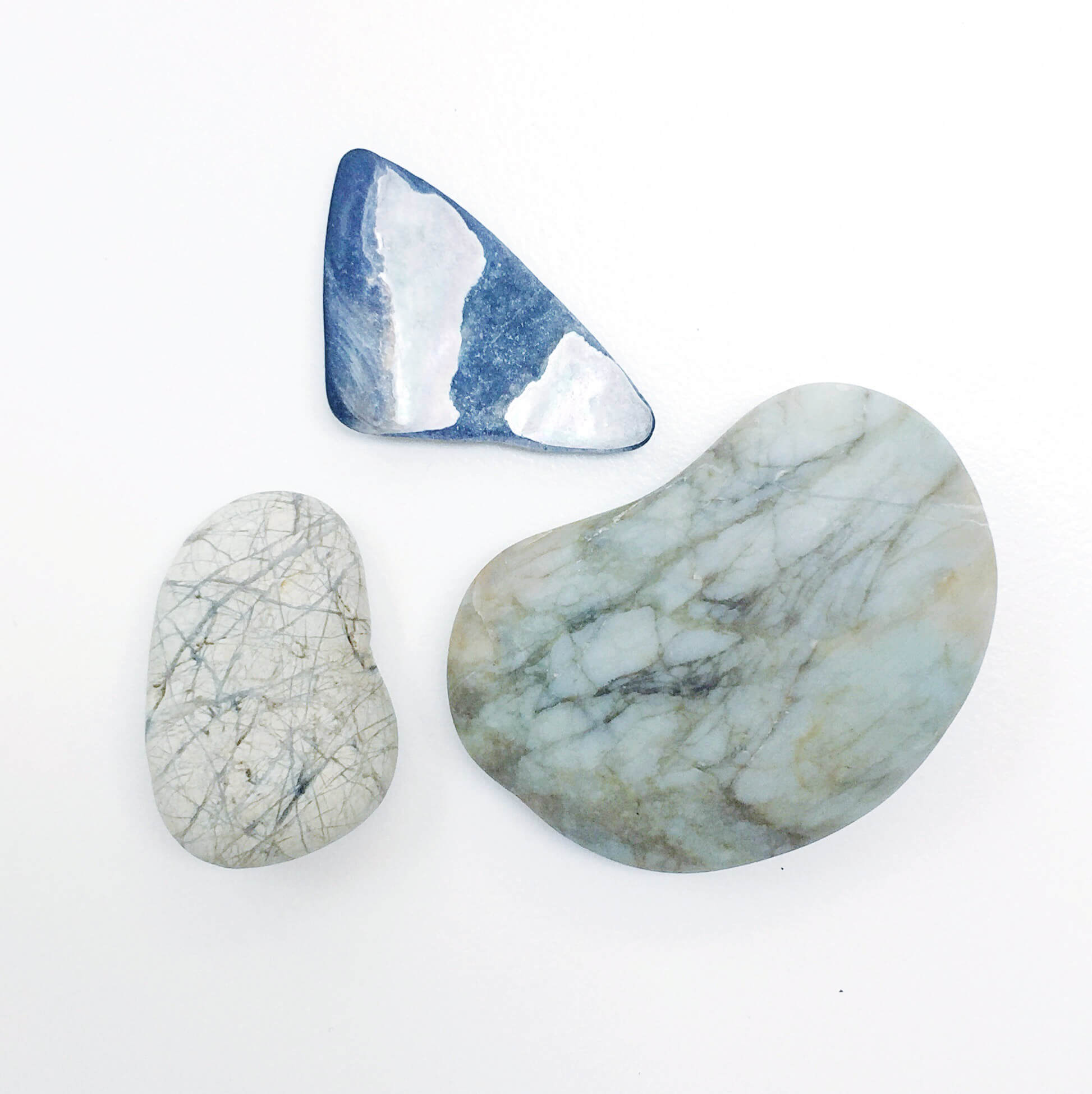 Photo of rocks used for inspiration by The Qurious Effect | Squarespace website designer