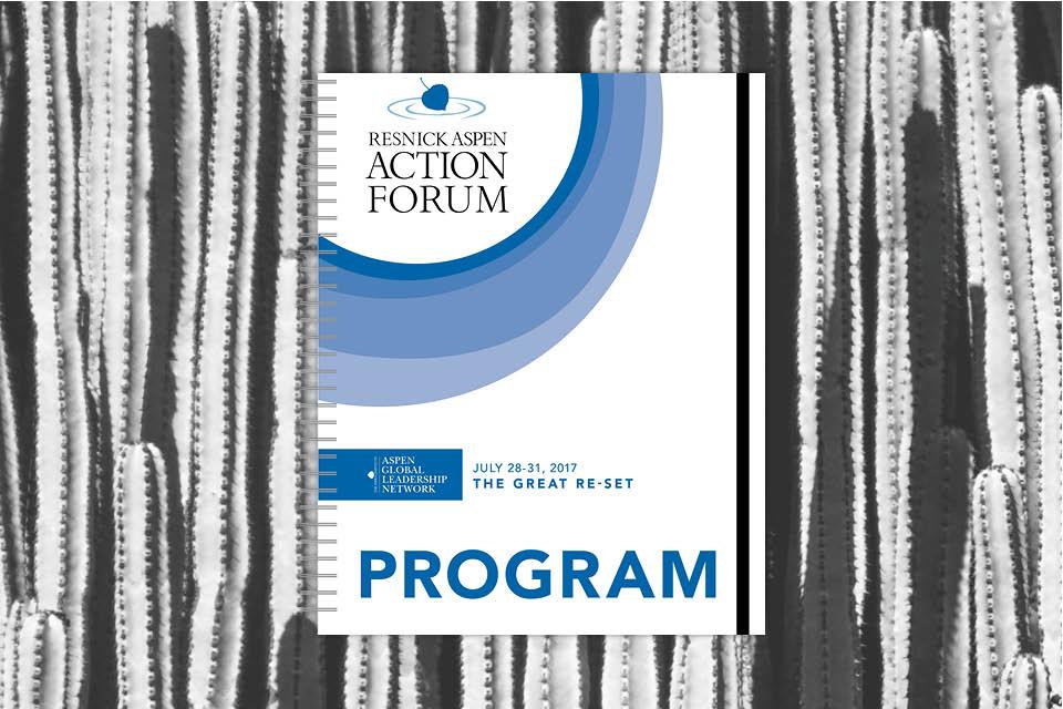 Resnick Aspen Action Forum Event Program