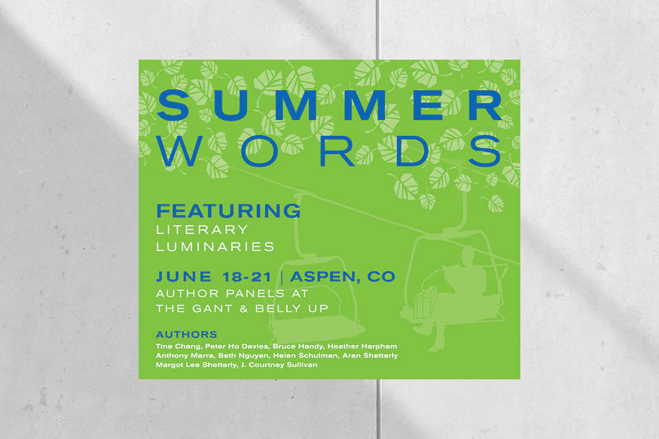 Aspen Words Event Poster