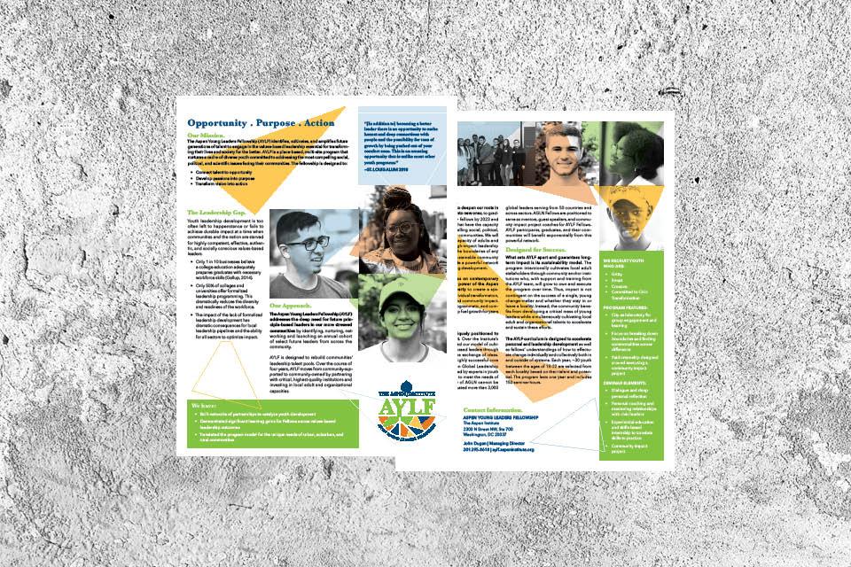 Program One Sheet