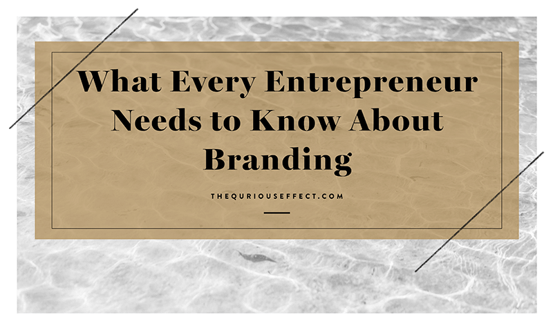 WHAT EVERY ENTREPRENEUR NEEDS TO KNOW ABOUT BRANDING   Learn why anyone selling a product or service needs a brand in order to differentiate themselves from everyone else working in the same industry.    READ MORE →