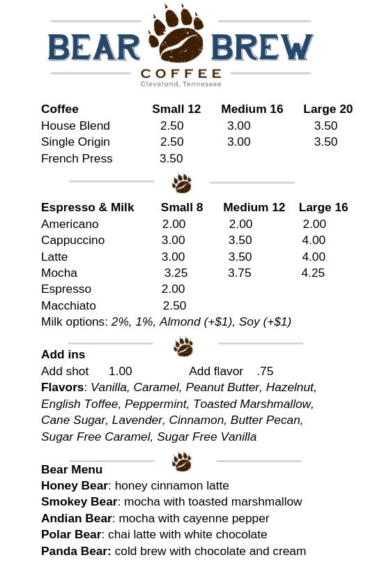 Bear brew menu p1.png