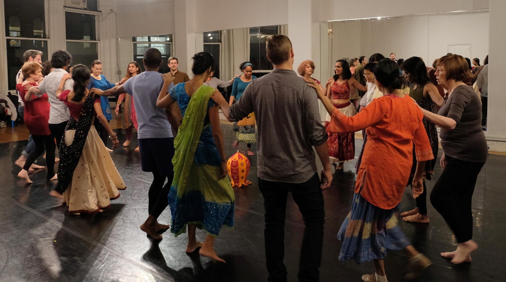 Public DITR Workshop, Gibney Dance Center, New York, NY. Photo by Sanjay Cherubala.