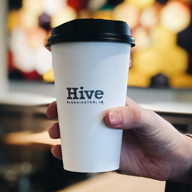 $1 small to-go coffee, now through next Friday, 7-11am. Heading back to work can be tough after the holidays! We're here to help. 🐝 ☕️ . . . . . . . . . . . #drinklocal #coffee #hive #holidays #work