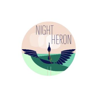 Flying Heron Pink Sky pixlr.jpg