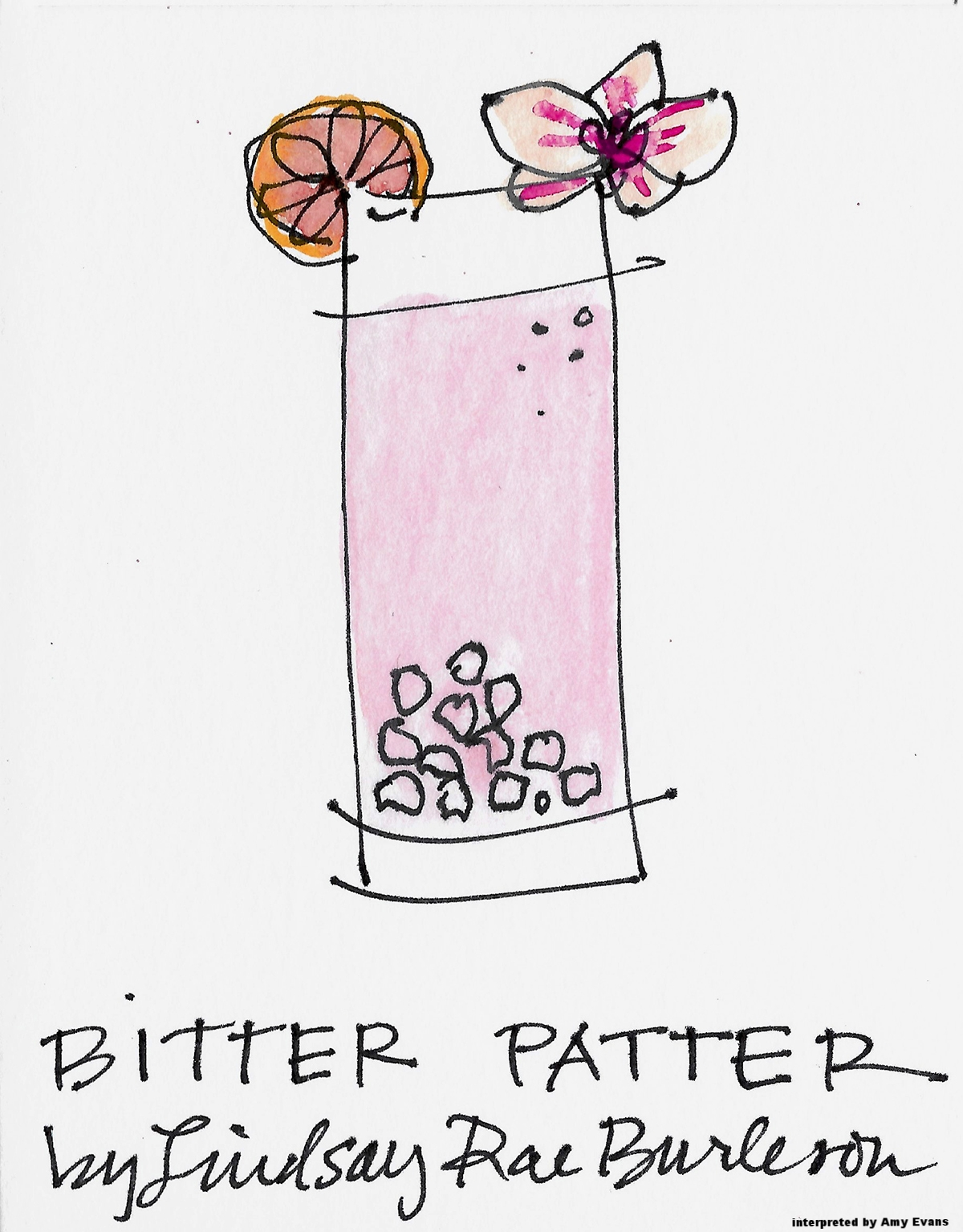 BITTER PATTER drawing by Amy C Evans.jpg