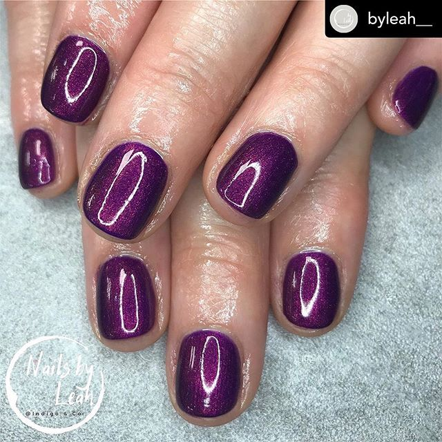 @byleah__ • Hello autumn💜 . Gelish Manicure - £20 (shade: plumb-thing magical) ➡️swipe for before ______________________________________ #nails #nailsbyleah #gelish #gelishmanicure #gelishcardiff #gelnails #gelmanicure #makethemgelish #byleah #gelnailscardiff #nailsdid #nailporn #nailtech #nailtechcardiff #nalsonpoint #nailsonfleek #nailaddict #nailedit #newnails #purplenails #nailscardiff #cardiffnails #nailsofinstagram #beauty #cardiff #canton #cardiffsalon #nailenvy #nailinspo #nailgoals