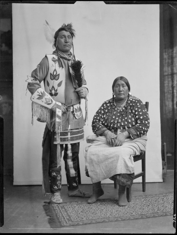 Albert and Mary Lincoln posing for a photograph. Photo by Richard Throssel. Courtesy of University of Wyoming, American Heritage Center