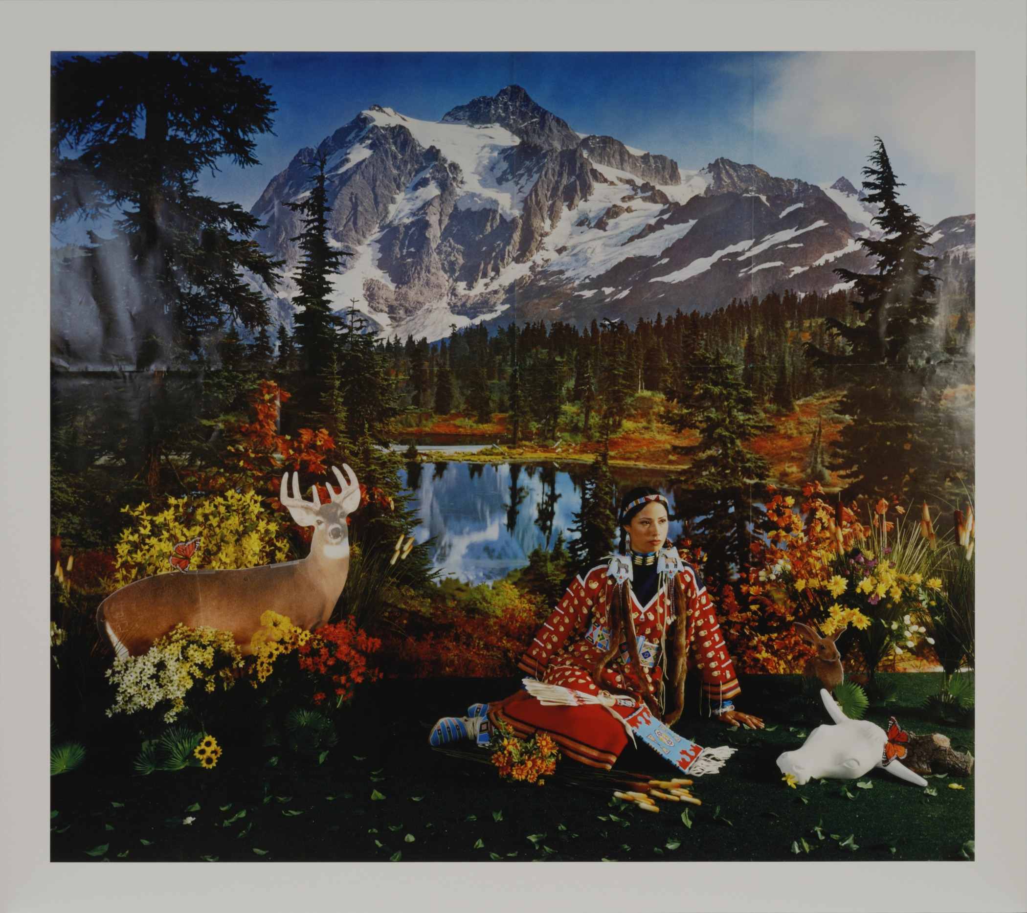 Wendy Red Star,  Summer , from  The Four Seasons  series, negative 2006; print July 1, 2014