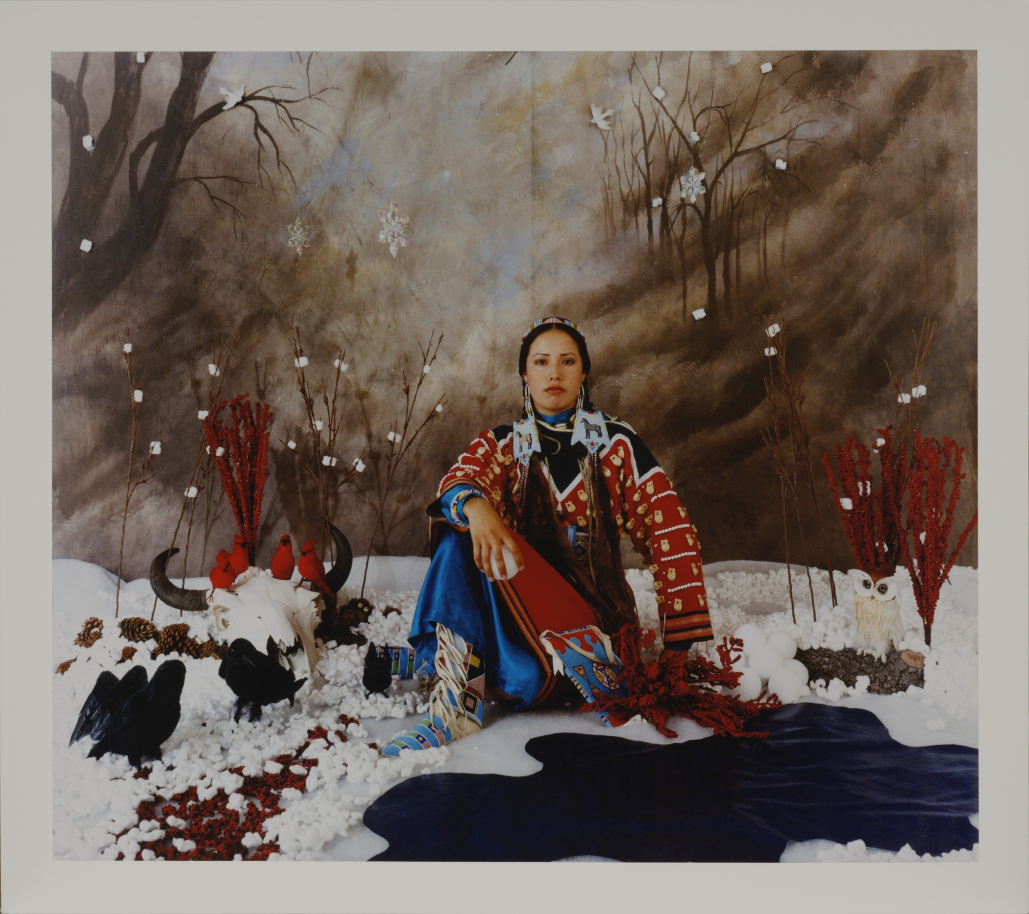 Wendy Red Star,  Winter , from  The Four Seasons  series, negative 2006; print July 1, 2014