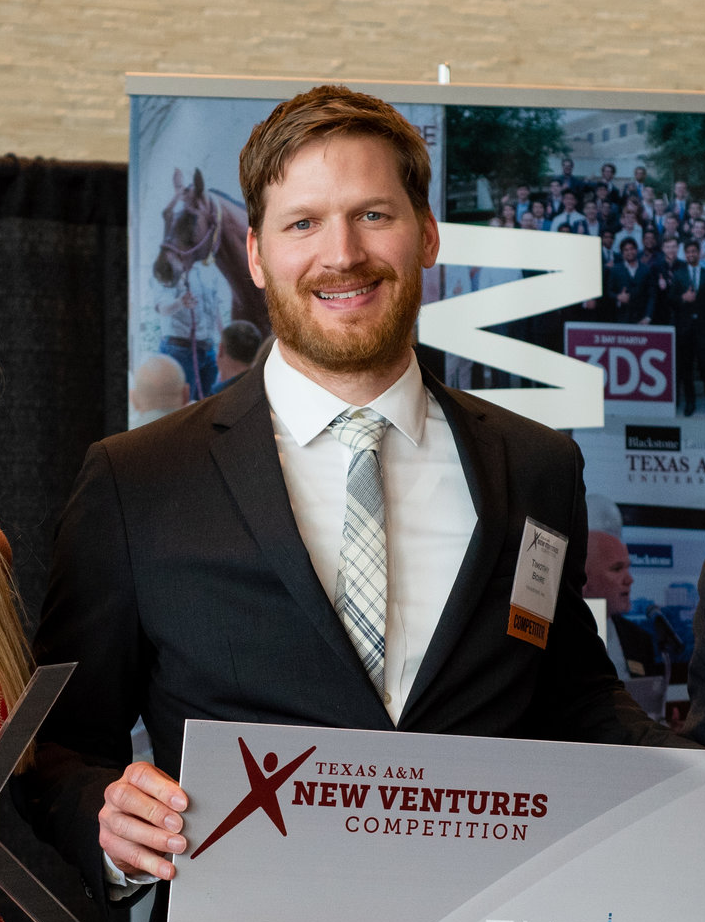 Tim received his PhD in Biomedical Engineering from Vanderbilt University and is an inventor of the novel shape memory polymers and SelfWrap technologies. He has vetted the commercial potential of SelfWrap by interviewing healthcare professionals from across the country as an Entrepreneurial Lead in the 2014 NSF I-Corps Program, a pre-intake company in the Life Science Tennessee Mentor Network Program, and awardee in numerous pitch competitions such as the 2016 Rice Business Plan Competition. It's Tim's dream to impact patients lives, and VenoStent's SelfWrap technology is an exciting opportunity to do so. Dr. Boire previously worked for 3 years at Genzyme Corporation as a Research Associate.
