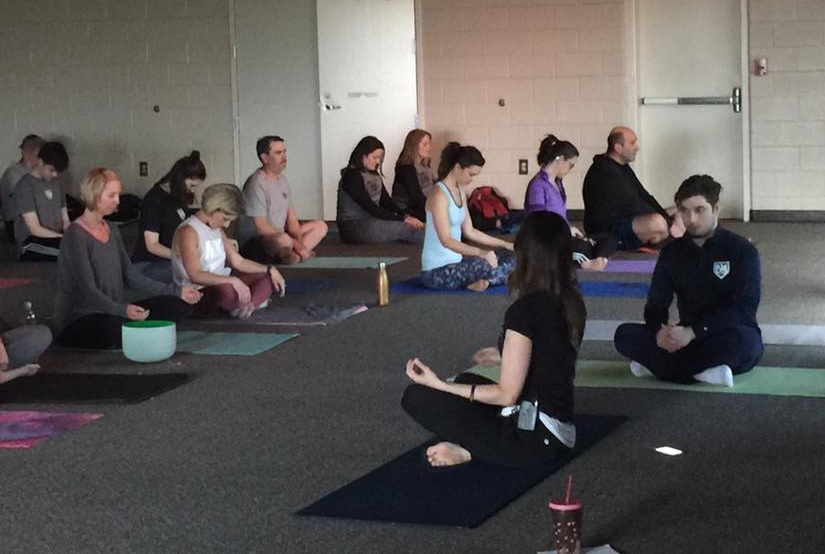 Yoga fundraiser for the P4 Foundation