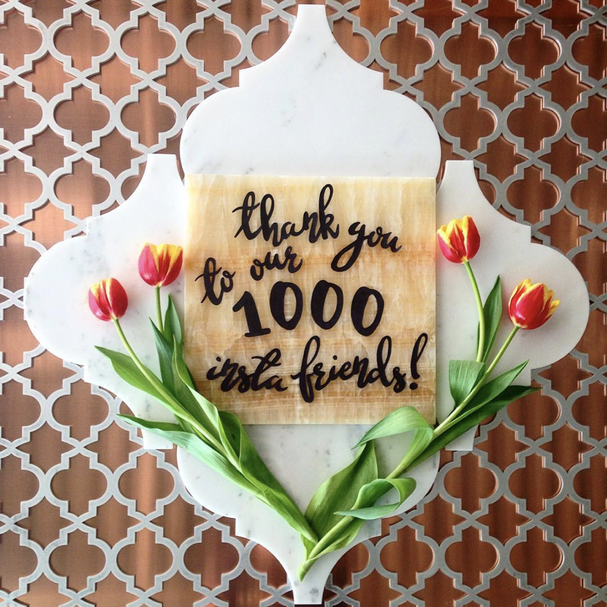 Our 1000th Instagram follower!